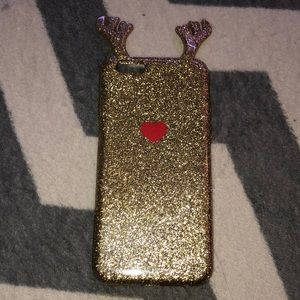Iphone 6 glittery Christmas case